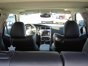 And another interior shot looking in from the back.